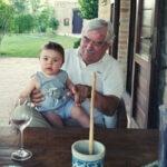 Papa mit Jim